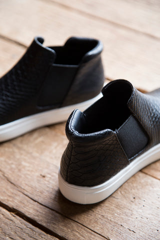 Harlan Slip On Sneaker, Black Snake | Coconuts by Matisse