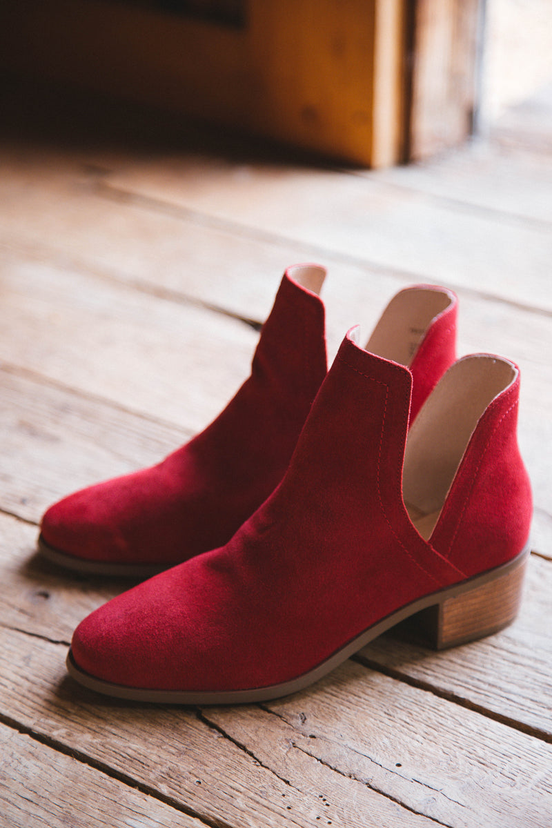 Pronto Ankle Boot, Red | Coconuts by Matisse