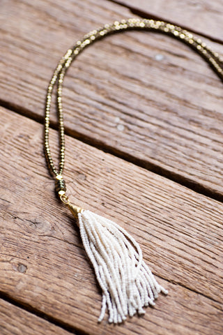 The Hendrix Necklace, Cream | BPD