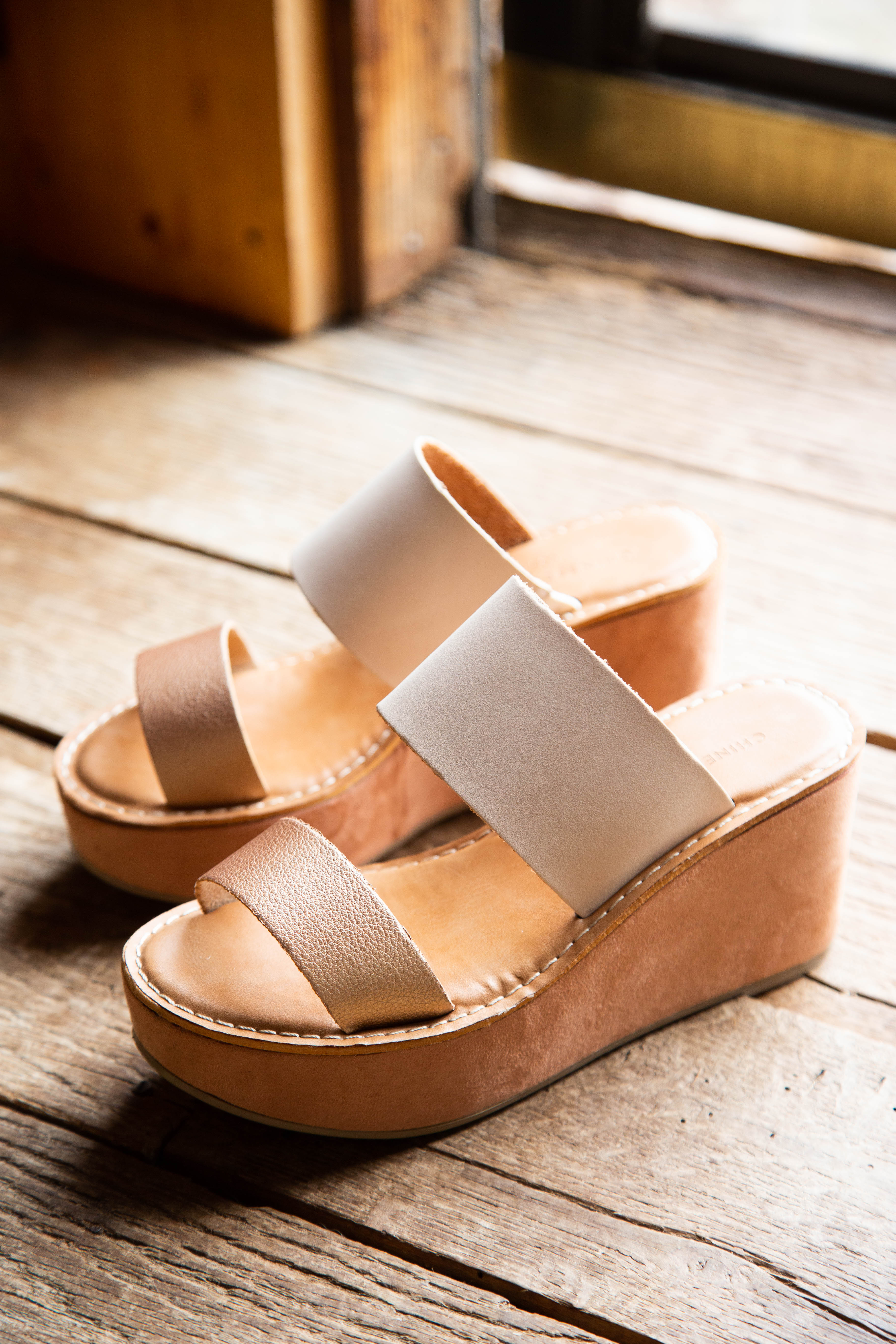 ee65a5113a Quay Split Suede Heel, Rose Gold | Chinese Laundry | Women's Shoes ...