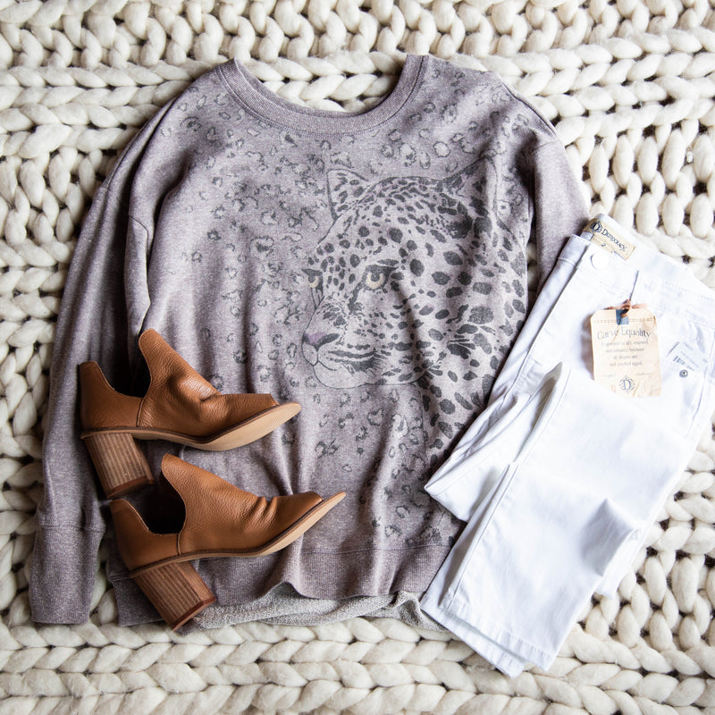 FIERCE Sweatshirt, Mocha | Democracy