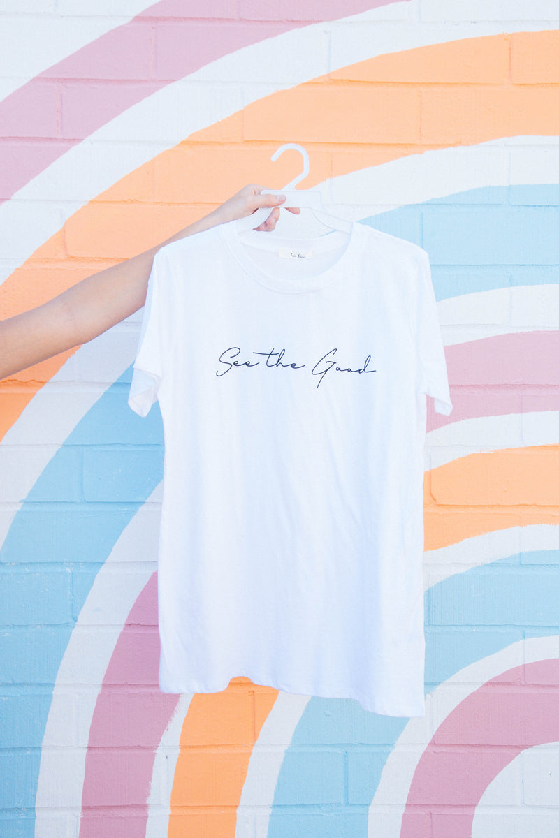 See The Good Graphic Tee, White