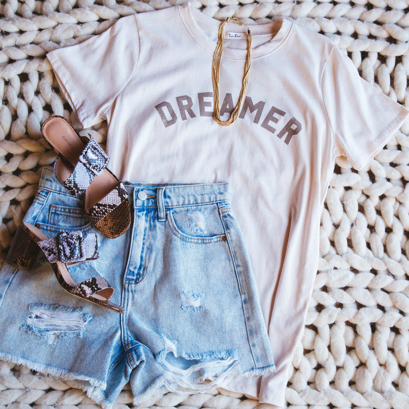 Dreamer Graphic Tee, Natural