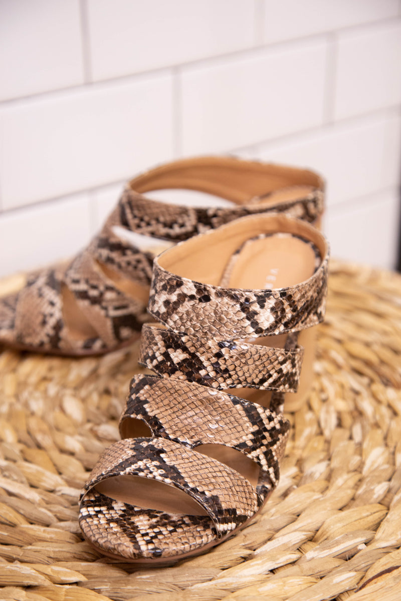 Shrine Slide-On Shoe, Snake | Very Volatile | Women's Fashion Shoes
