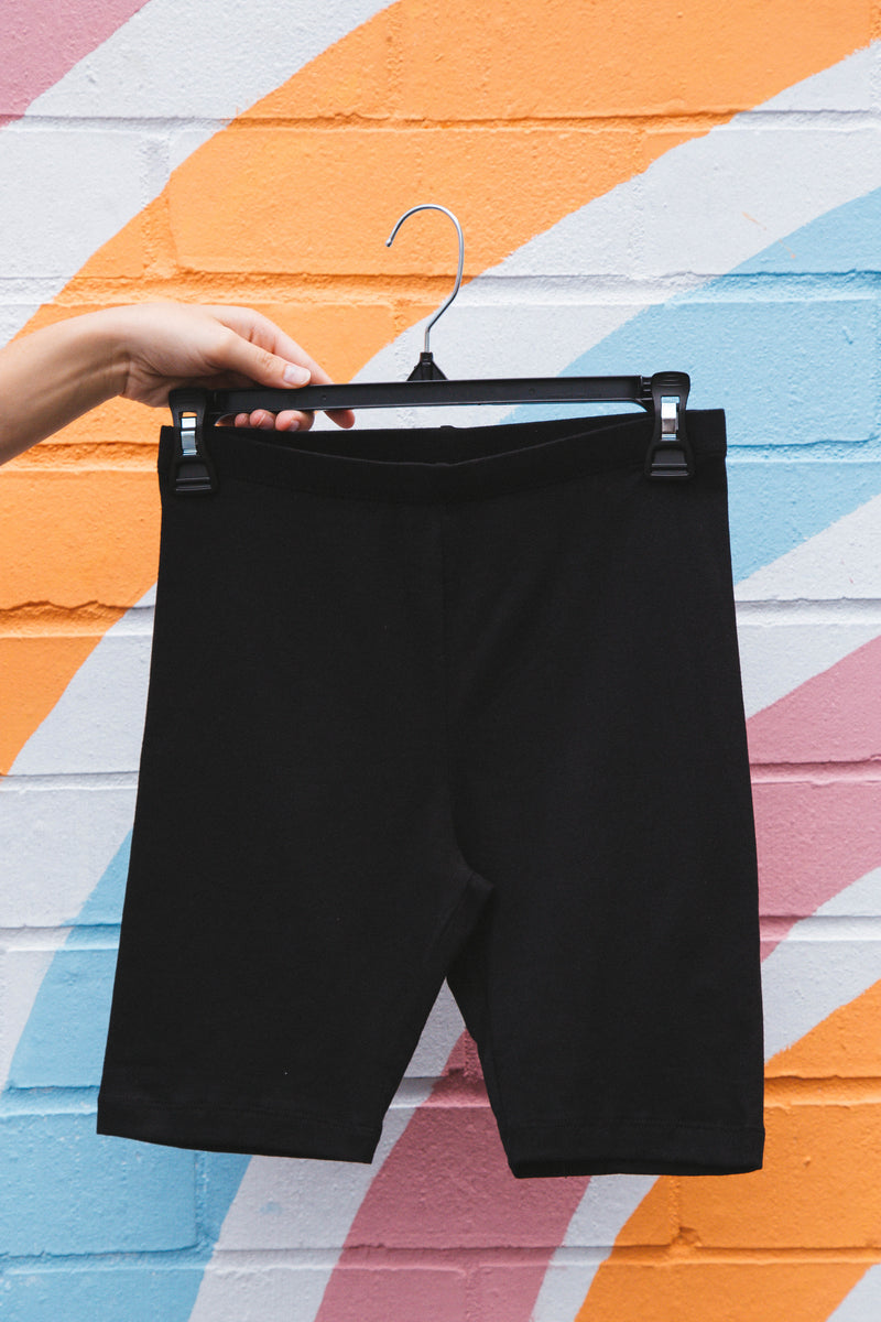 Santa Cruz Biker Shorts, Black