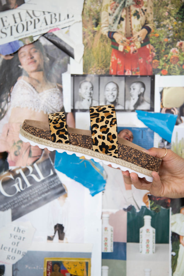 Double Play Disco, Tan Leopard | Dirty Laundry