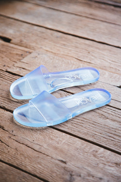 Sol Jelly Slide Sandal, Clear | Beach by Matisse