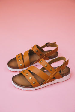 Cee Cee Sandal, Sugar Brown | Dirty Laundry