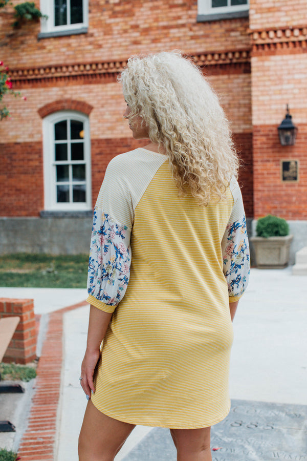 Honey T-Shirt Dress | Plus Size