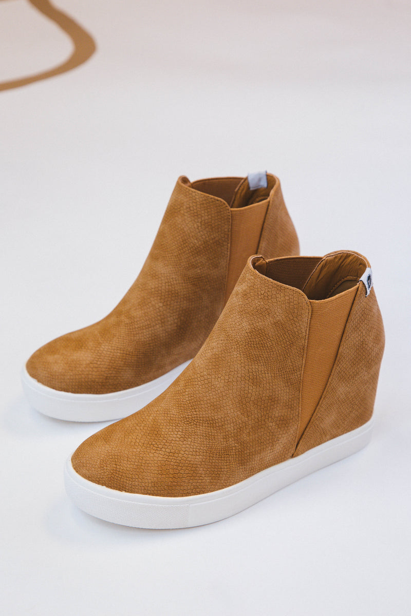 Lure Hidden Wedge Slip On Sneaker, Fawn Lizard | Coconuts by Matisse