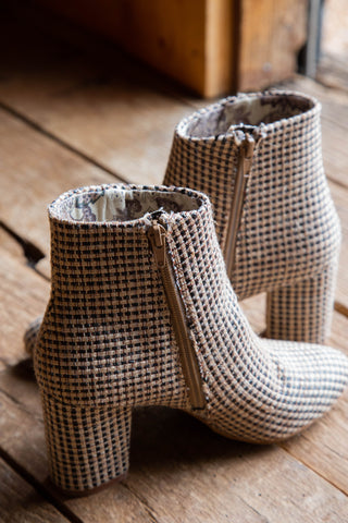 fabric 3 inch boots by band of gypsies