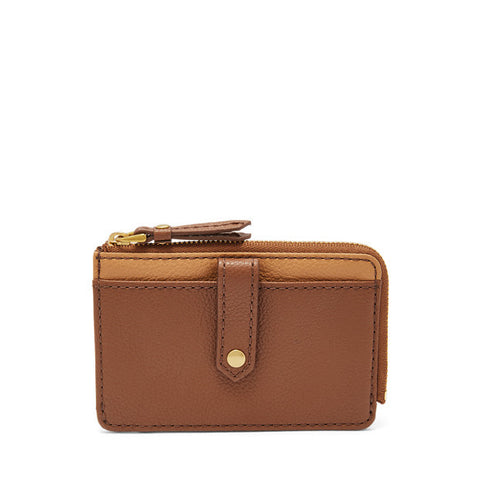 Keely Tab Card Case, Neutral