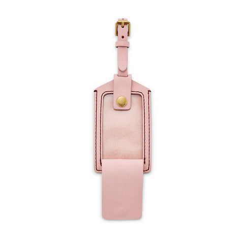 Luggage Tag, Powder Pink