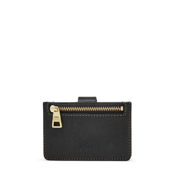 Mini Tab Wallet, Black | FOSSIL