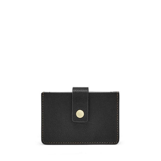 Mini Tab Wallet, Black by Fossil