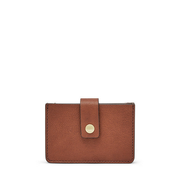 Mini Tab Wallet, Brown by Fossil