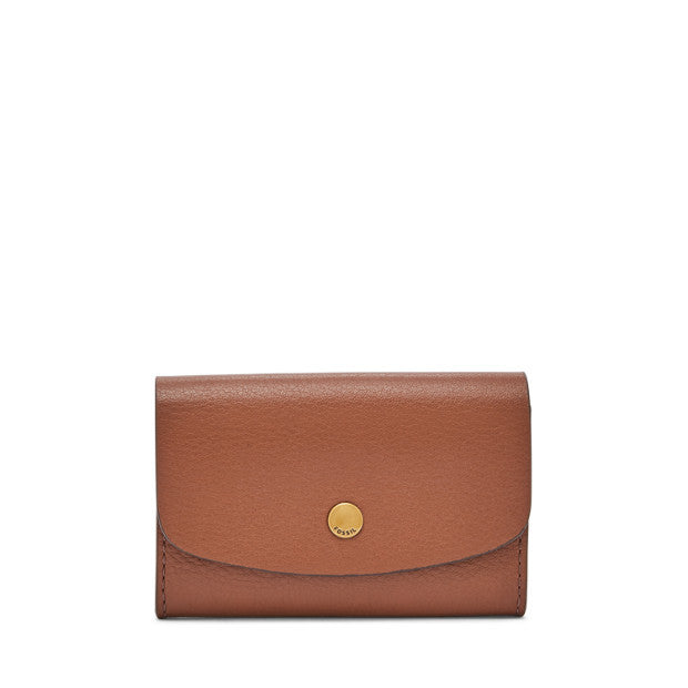 Haven Card Case, Brown | Fossil