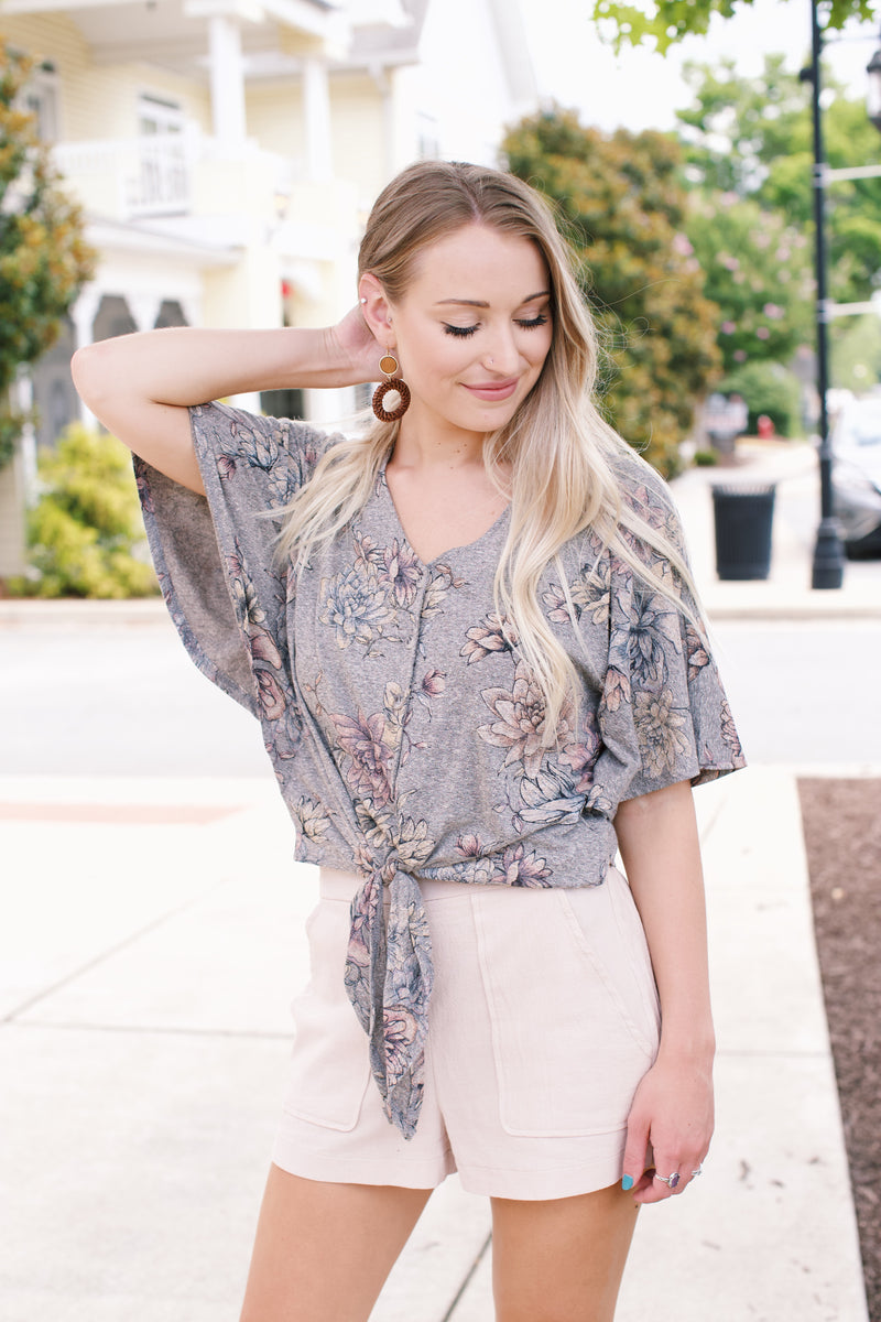Succulent Button Front Blouse | Democracy