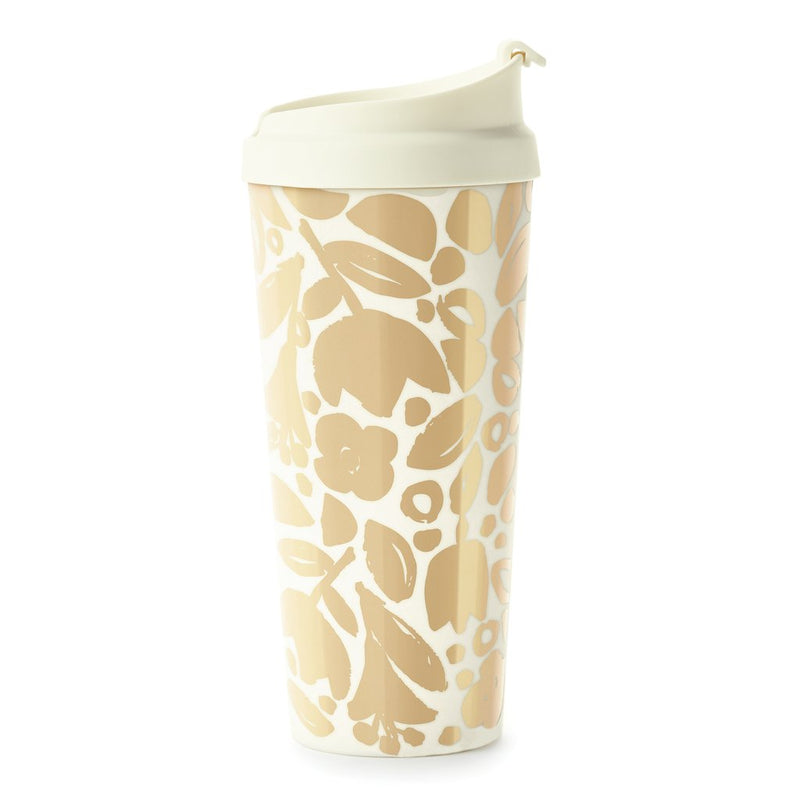 Thermal Mug, Golden Floral | kate spade new york | Women's Gifts & Accessories
