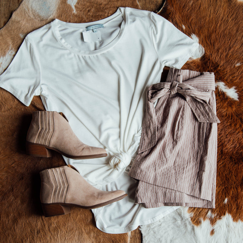 Timeless Tee, Ivory