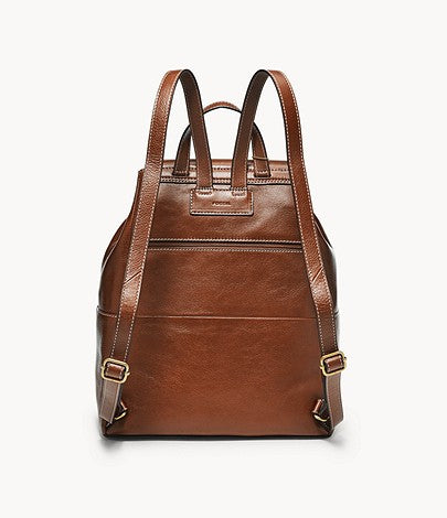Luna Backpack, Brown | Fossil®