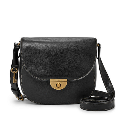 Emi Saddle Bag, Black - The Loft Boutique - Accessory  - 2