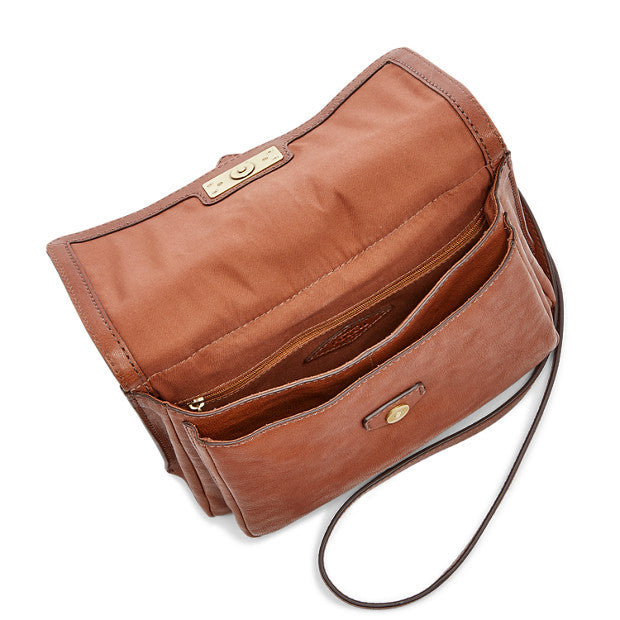 Fossil Maddie Small Crossbody, Brown