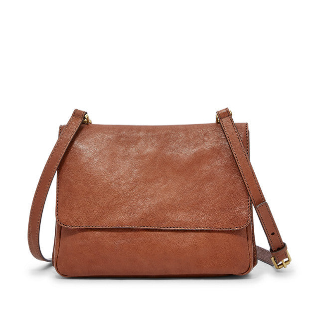 Maddie Small Crossbody, Brown
