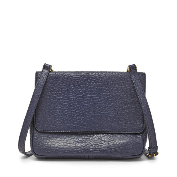 Maddie Small Crossbody, Navy by Fossil