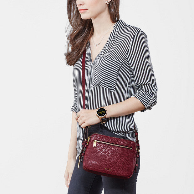Piper Toaster Bag, Burgundy