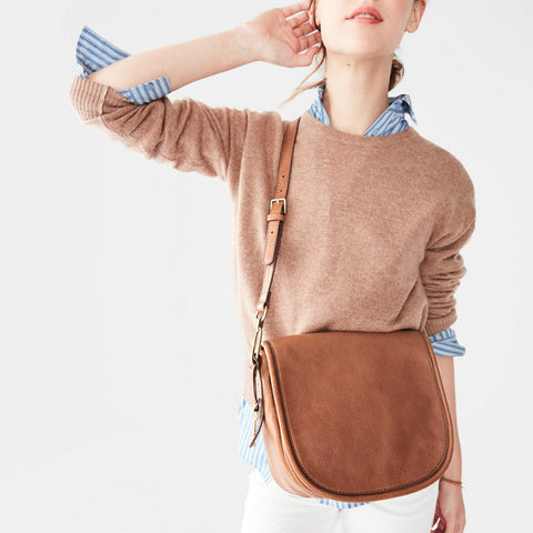 Rumi Crossbody, Saddle