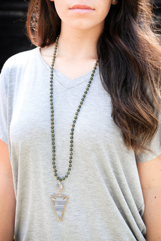 The Chrissy Necklace, Forest | BPD - The Loft Boutique - Accessory  - 1