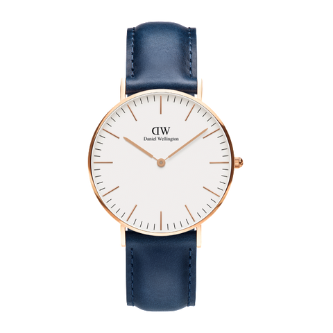 Classic Somerset, Navy 36mm - The Loft Boutique - Accessory  - 1