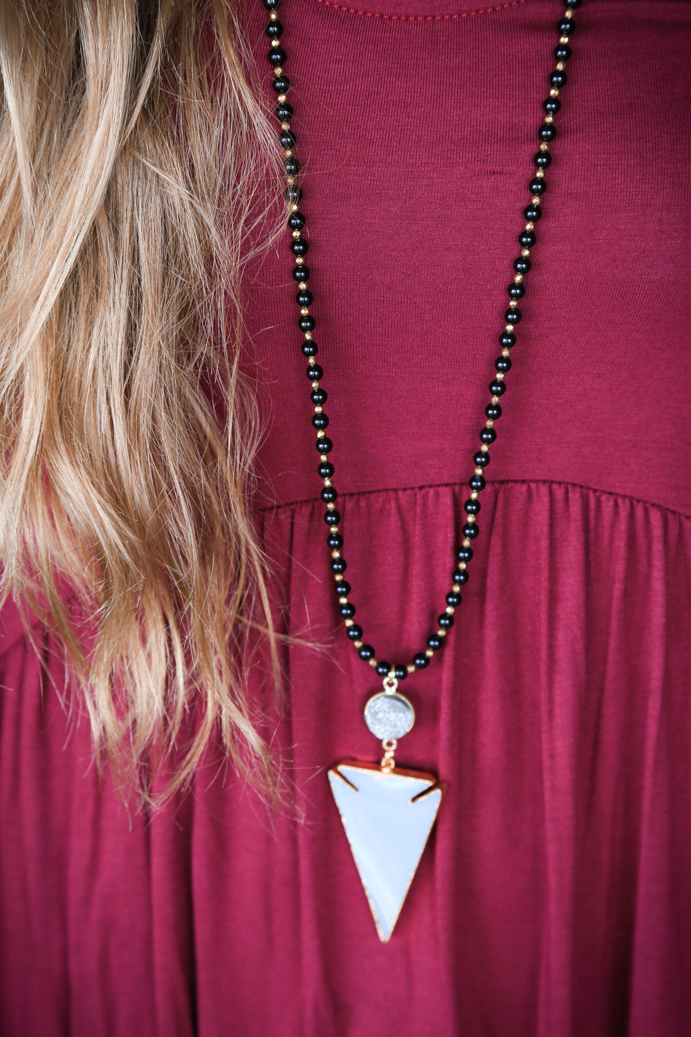 The Chrissy Necklace, Black | BPD - The Loft Boutique - Accessory  - 4