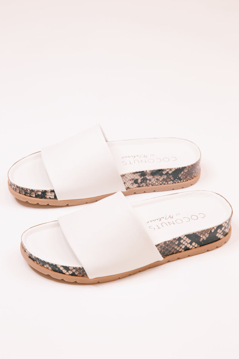 Shift Slide Sandal, White | Coconuts By Matisse