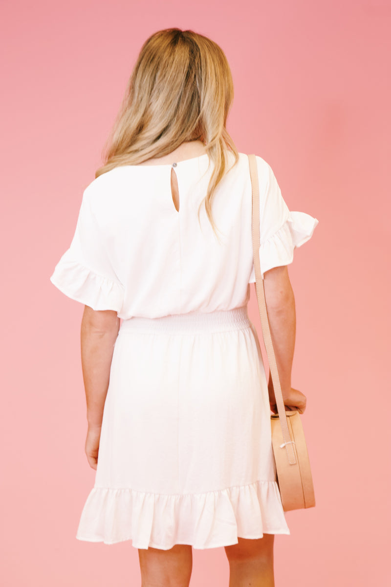 Sweet Escape Dress, Off White