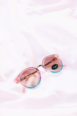 Click On Rainbow Sunnies, Pink/Blue