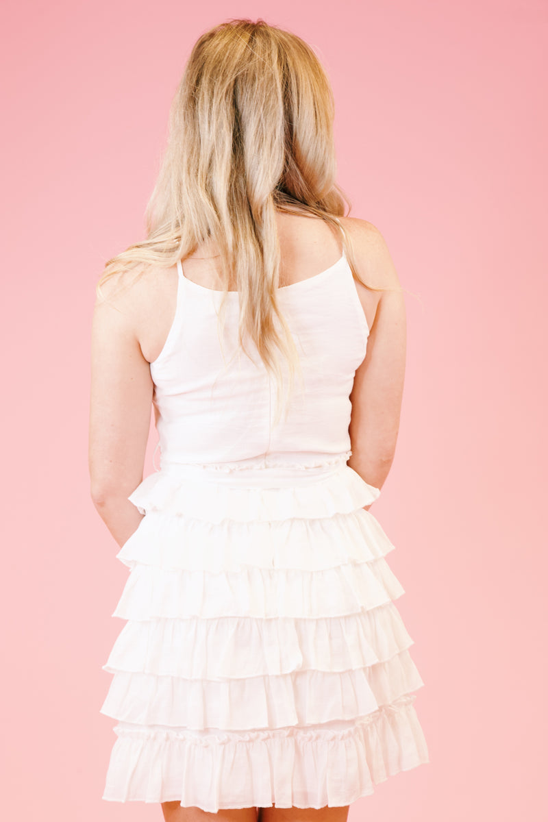 Willow Dress, Off White