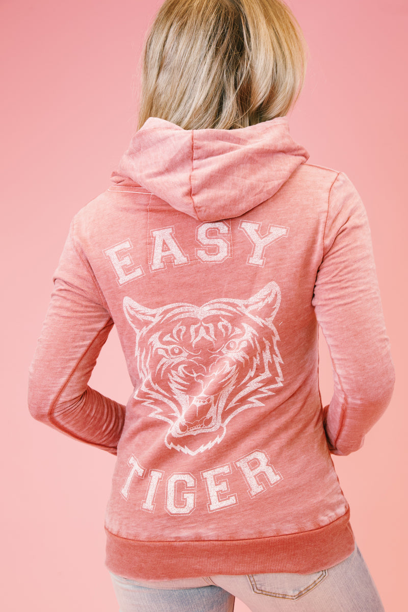 Easy Tiger Hoodie, Chili Pepper