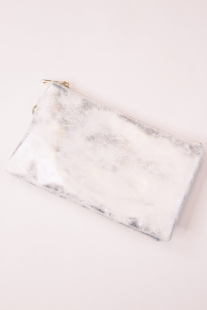 Liz Custom Collecting Crossbody, Glimmer Silver