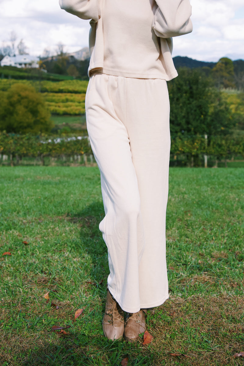 Madison Knit Lounge Pants, Natural