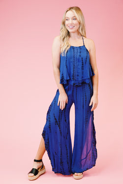 Zella Wide Leg Pant, Blue