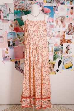 Just Peachy Maxi Dress, Peach | Plus Size