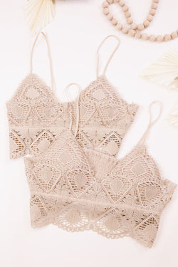 Jackie Bralette, Light Taupe