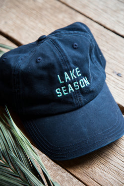 Lake Season Hat, Navy | Women's Summer Hats