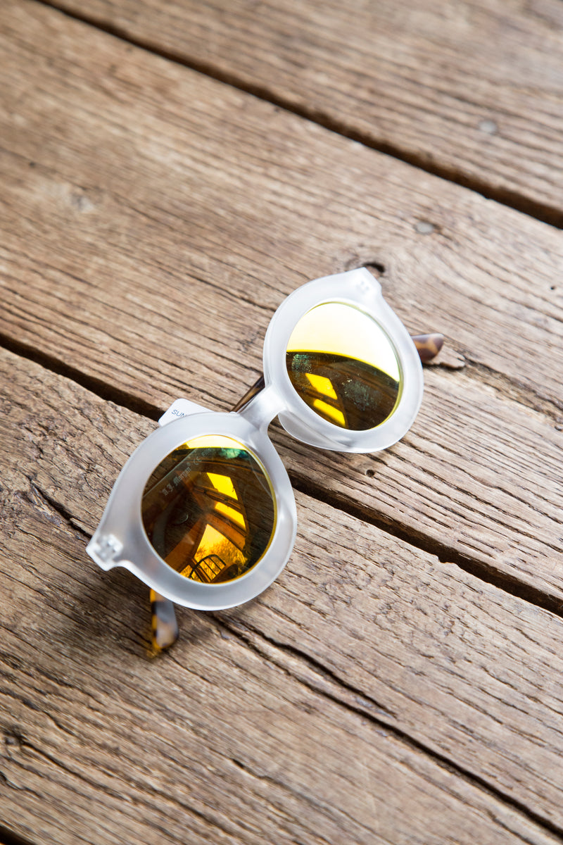 Sunglasses, Clear | Women's Accessories