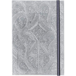Silver Embossed Paseo Notebook | Christian Lacroix