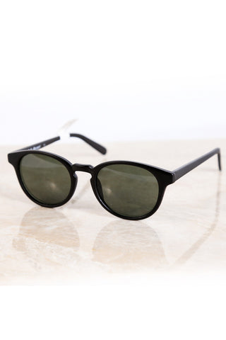 Mamba Round Sunnies - The Loft Boutique - Accessory  - 1