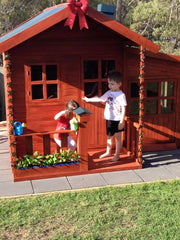 Malibu Large CUBBY HOUSE - TAKING PRE-ORDERS NOW! STOCK ARRIVES LATE MARCH TO MID APRIL.