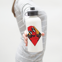 Deadpool Medallion Water Bottle